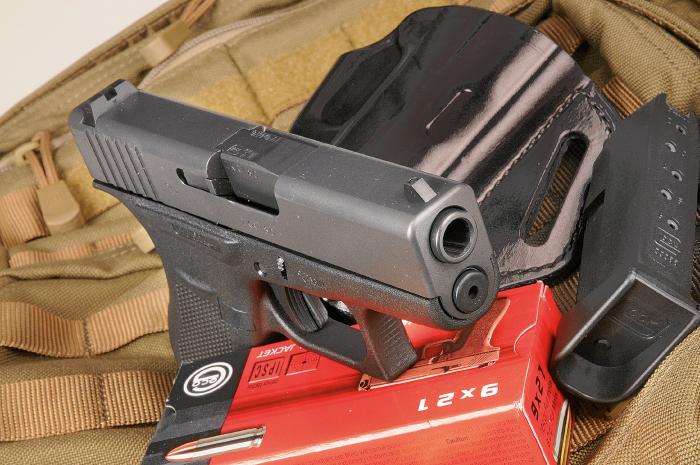 Piccola In 9 Pieno Glock G43 Cal 9x21 Imi Armi Magazine