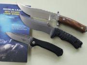 I tre coltelli di Maserin disegnati da Nicolai Lilin