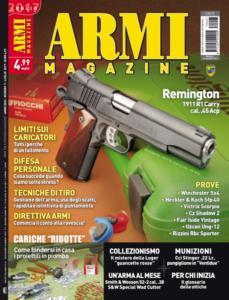 Armi Magazine luglio 2017 copertina