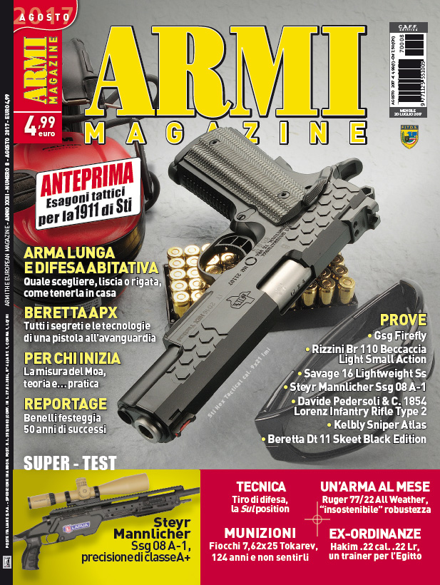 Armi Magazine agosto 2017