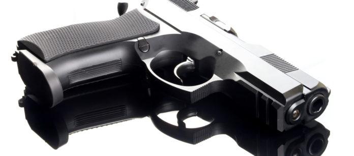 Handgun 9 mm