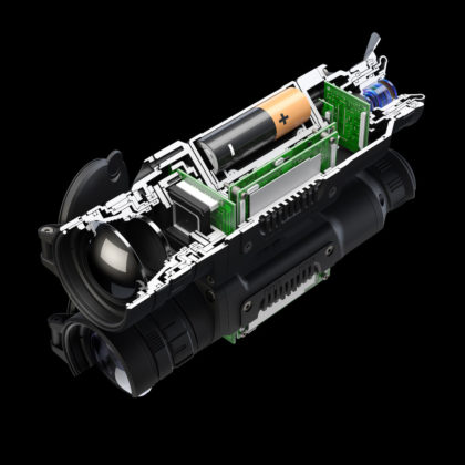 Adinolfi è il distributore esclusivo per l'Italia di Pulsar Helion, la nuova serie di visori termici di Pulsar: quattro i modelli prodotti.