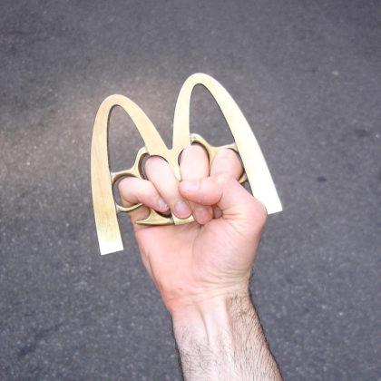 Tom Galle McDonald's hand