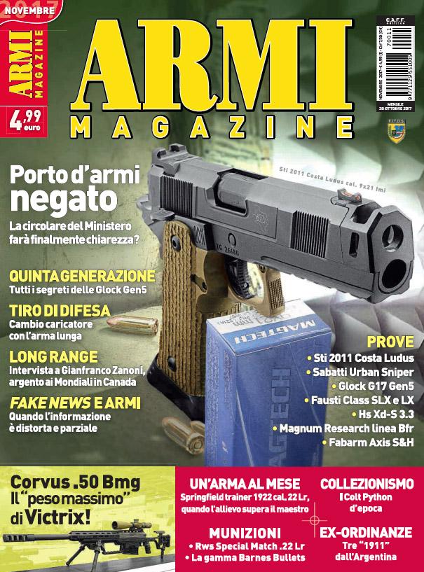 Armi Magazine novembre 2017