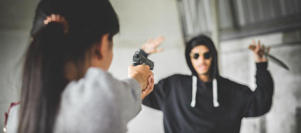 Thief handgun