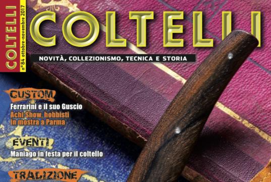 cover Coltelli 84 ott-nov 2017