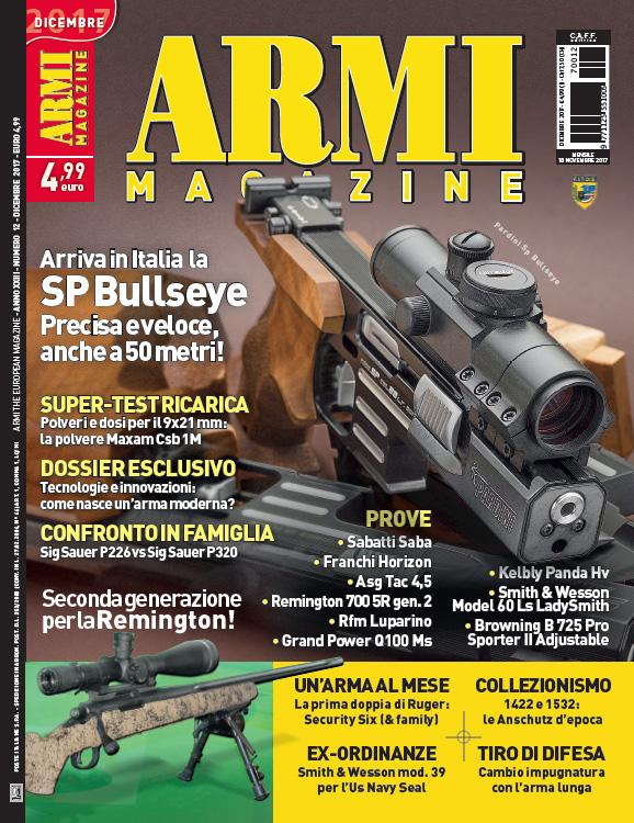 Armi Magazine dicembre 2017