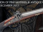 È stata fissata al 14 dicembre 2017 l'ultima auction dell'anno solare da parte della casa d'aste Holt's, che batte armi fini moderne e antiche.