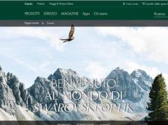 Nuovo sito Swarovski