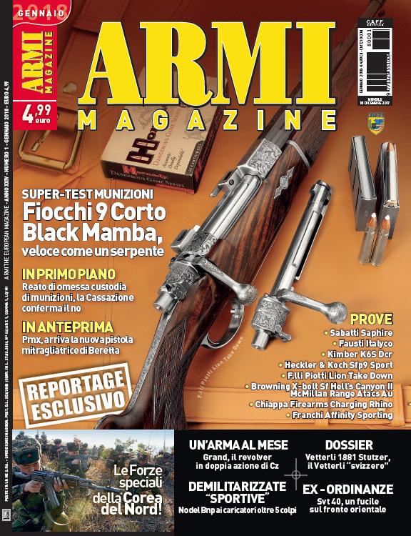 Armi Magazine gennaio 2018 01
