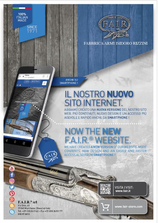 quality design ac87f 1e5ed F.A.I.R.: shop on line, e non solo, sul nuovo sito