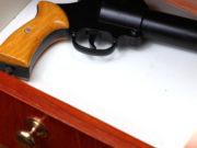 Quando il titolare di porto d'armi si trova all'interno dell'appartamento, è più facile una minimale custodia delle armi anche in assenza di armadi blindati.