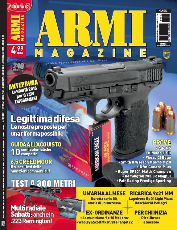 Armi Magazine febbraio 2018