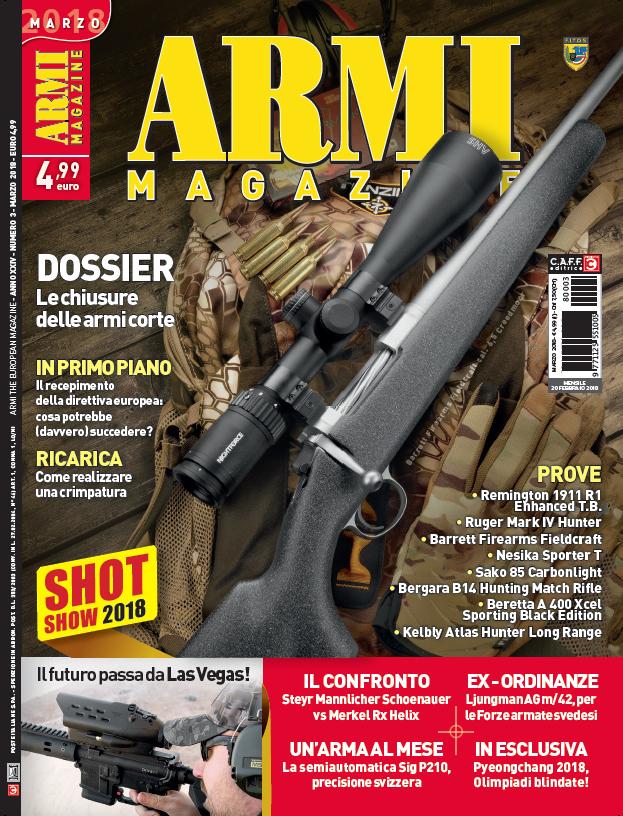 Armi Magazine marzo 2018