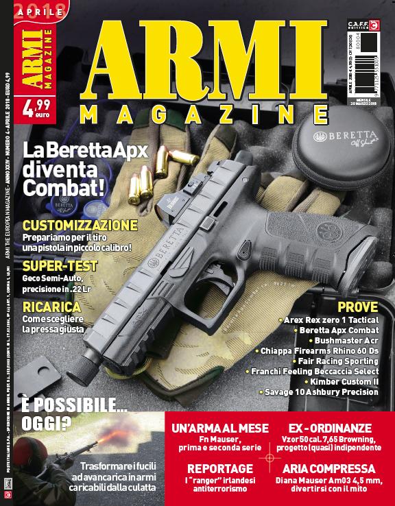 Armi Magazine aprile 2018