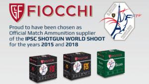 L'International practical shooting confederation ha scelto Fiocchi come partner ufficiale dell'IPSC III Shotgun Worldshoot che si terrà a Châteauroux (Francia) dal 28 maggio al 10 giugno 2018.