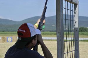 Hunting Show Sud centro il Tarì di Marcianise otto linee di tiro