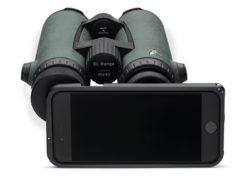 Swarovski PA-i8, l'adattatore da digiscoping per l'iPhone 8.