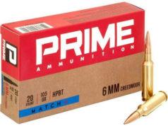 Prime Ammunition linea di munizioni 6 mm Creedmoor