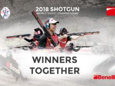 Benelli match sponsor del mondiale di tiro a segno