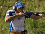 Christian Remonato tiratore Benelli al Campionato del mondo shotgun Ipsc