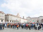 Protesta dei cacciatori