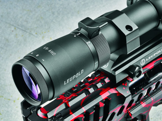 Leupold VX6HD ThrowLever