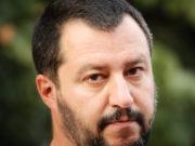 primo piano Matteo Salvini
