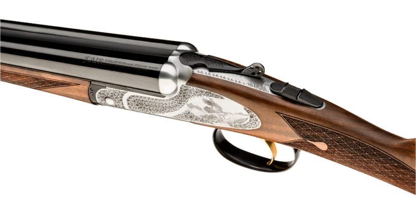 fucile FAIR Iside Prestige visto dall'alto