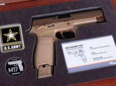pistola in edizione limitata Sig Sauer M17 commemorative