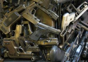 amnistia delle armi: armi disattivate