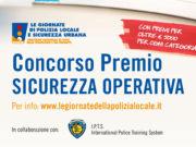 concorso per agenti di polizia locale concorso premio sicurezza operativa