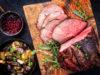 carne di cervo a fette con funghi e patate: UNA alla manifestazione enogastronomica Salone del Gusto