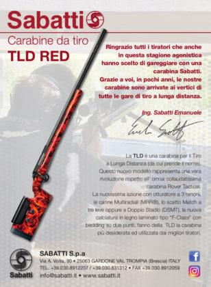 Carabine per il tiro a lunga distanza Sabatti campionato italiano
