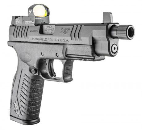 pistola Springfielg Armory XD(M) OSP vista da davanti