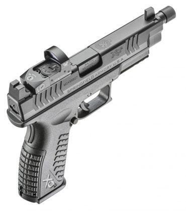 pistola Springfielg Armory XD(M) OSP vista da dietro