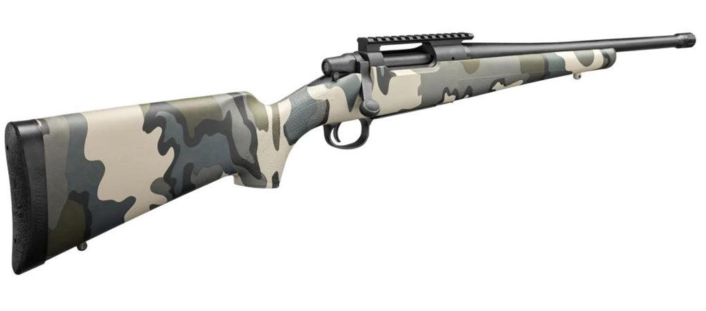 carabina bolt action Remington Seven camo kuiu vias