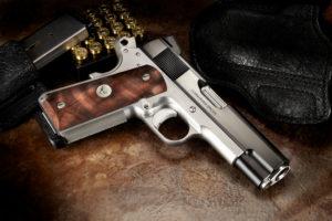 lato destro della pistola di lusso wilson combat super commander special