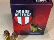 munizioni per pistola hornady defense hollow point