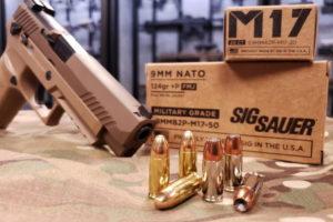Munizioni per pistola Sig Sauer M17 9 mm +p