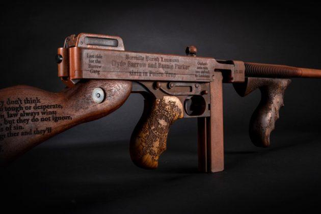 arma da collezione auto-ordnance Bonnie & Clyde vista completa