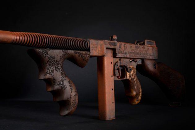 caricatore dell'arma di auto-ordnance Bonnie & Clyde