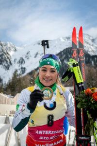 biathlon: Dorothea Wierer al poligono di Anterselva