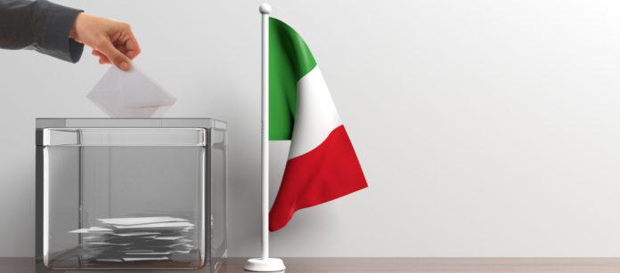 Referendum propositivo la posizione delle associazioni venatorie: bandiera italiana accanto a urna