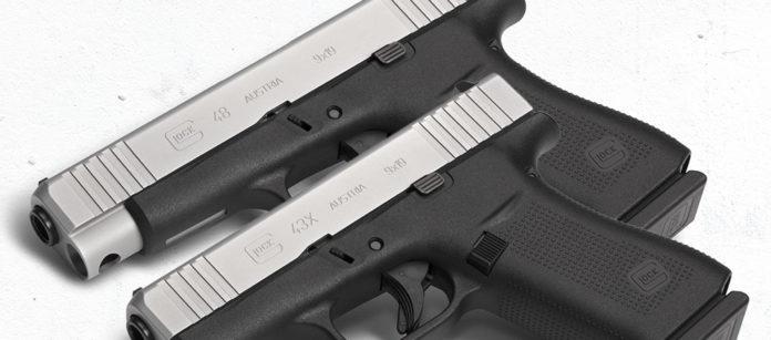 anteprima delle pistole compatte glock g43x e g48