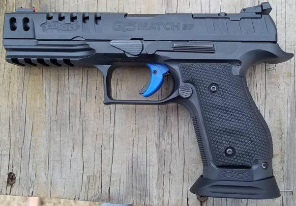 pistole da competizione Walter Q5 Match Steel Frame