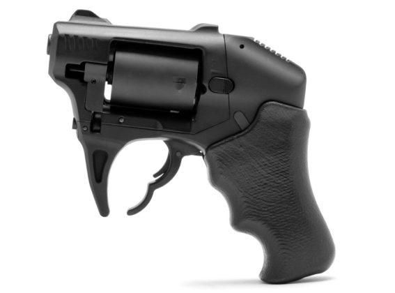 lato sinistro del revolver a doppia canna standard manufacturing s-333 volleyfire