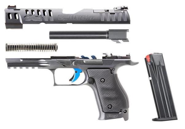 pistola smontata Walter Q5 Match Steel Frame
