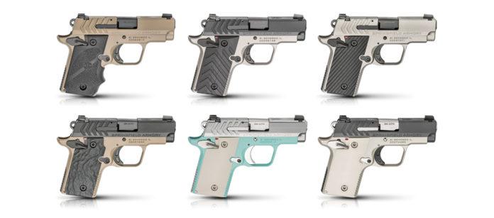 pistole compatte sei nuove varianti per le springfield armory 911 380 ACP
