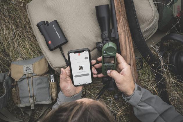 regolazione del telemetro CRF 2800 COM con lo smartphone